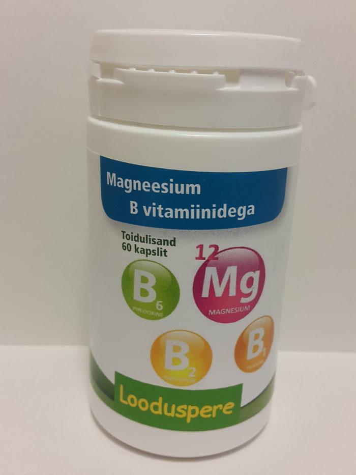 Магний с витамином В Looduspere 60шт