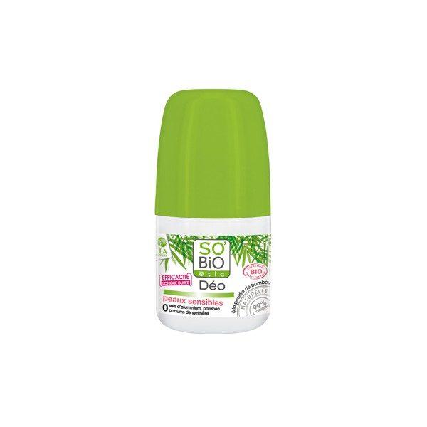 Дезодорант для чувствительной кожи SO'BiO 50ml