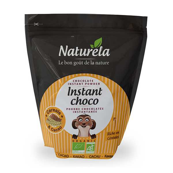Naturela lahustuv šokolaadijook 32% 800g