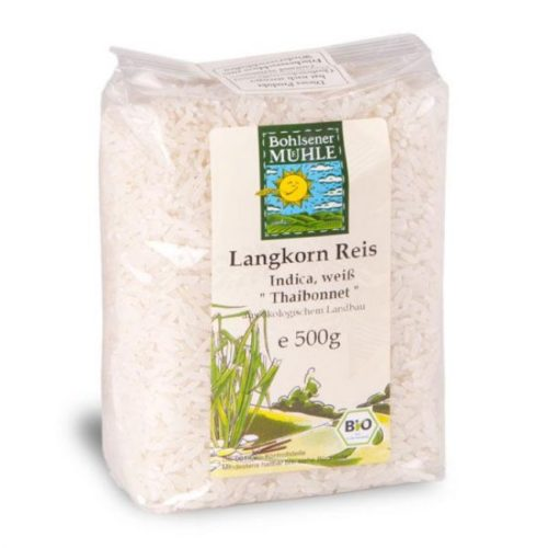 Bohlsener Mühle Long Grain White Rice 500g