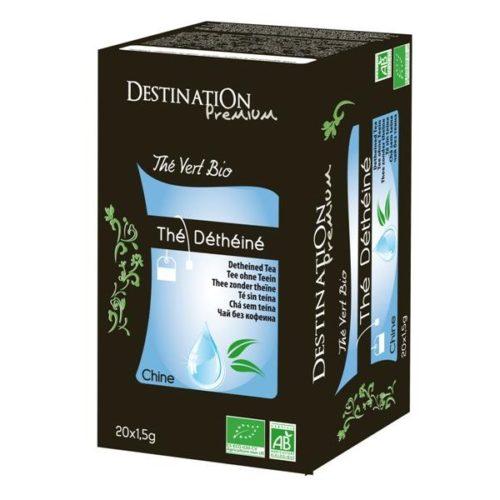 Зеленый чай без кофеина Destination 20x1,5g
