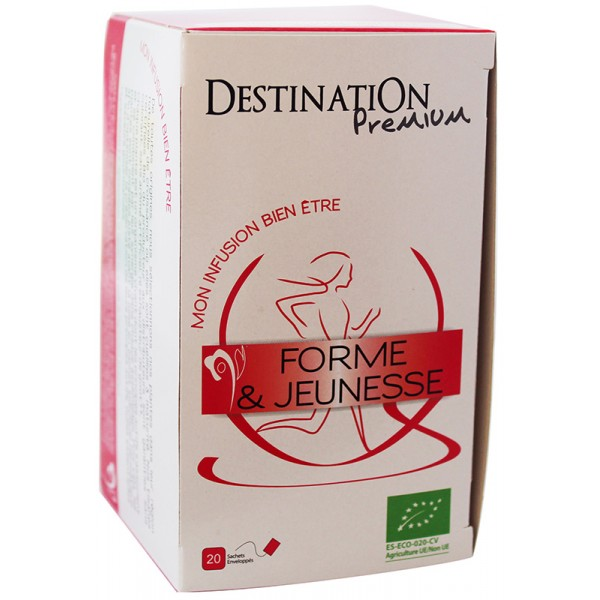 Destination nooruslikkuse taimetee 20x1,5g
