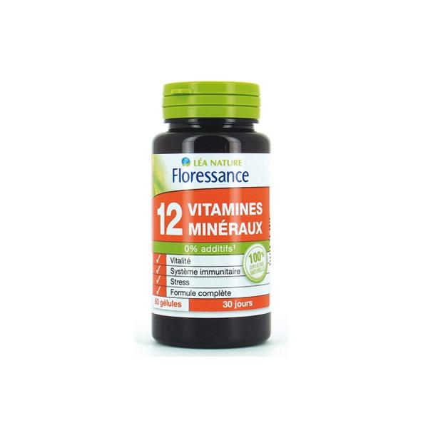 Мультивитамины 12 витаминов и минералов JardinBio 60шт