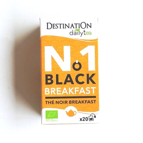 Destination Black Breakfast Tea 20x2g
