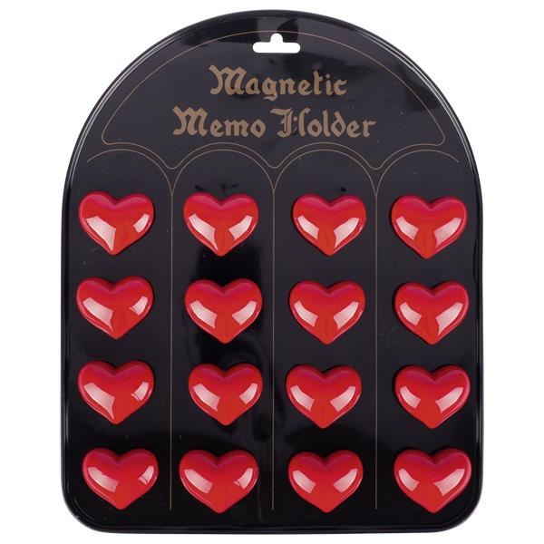 GOKI Magnetic Heart Memo Holder 1pc