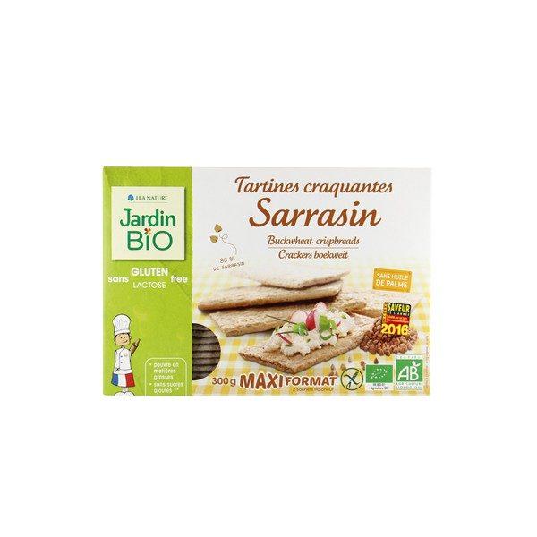 JardinBio Buckwheat Crispbread 300g