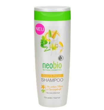 Шампунь для восстановления и блеска волос Neobio 250ml