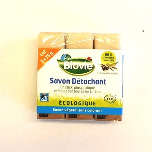 Мыло для удаления пятен с оливковым маслом Biovie 3 x 75g