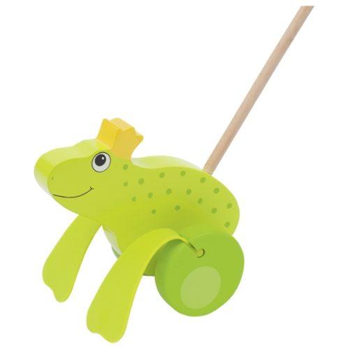 Игрушка-каталка Королева лягушка GOKI