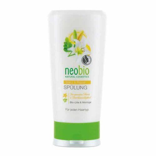Neobio läiget andev juuksepalsam kahjustatud juustele