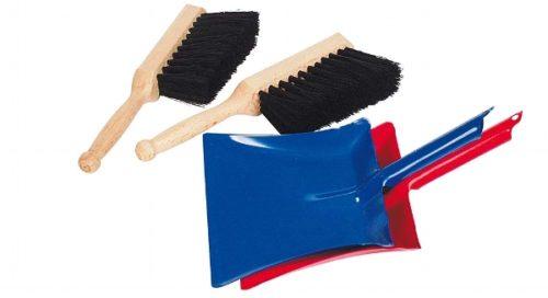 Детский набор для уборки: совок и щетка GOKI