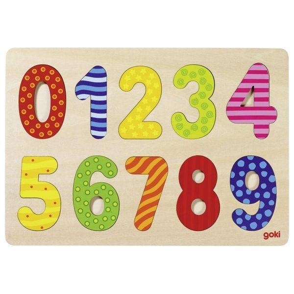 GOKI Number Puzzle 0-9