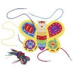 Игра со шнуровкой Бабочка GOKI