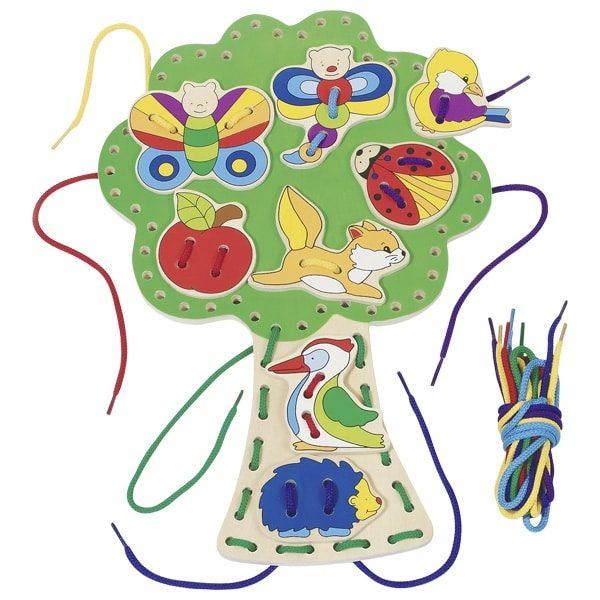Игра со шнуровкой Дерево GOKI