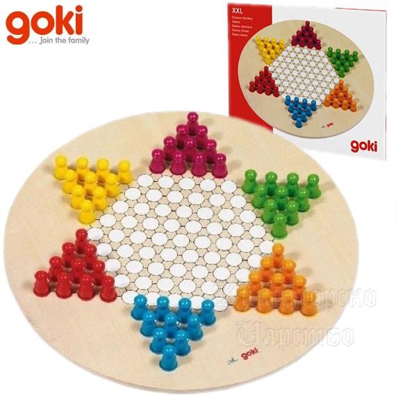 Настольная игра Китайские шашки GOKI 29см