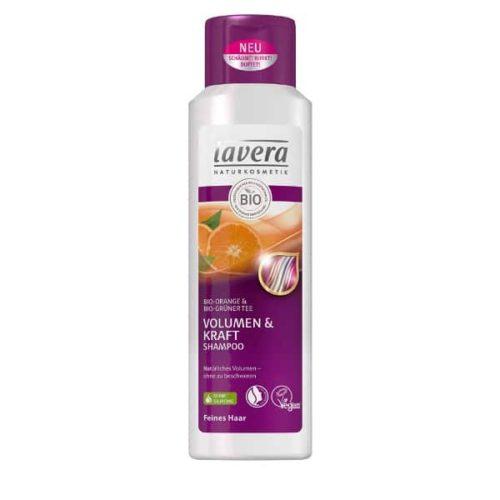 Шампунь для тонких волос Объем и Сила Lavera 250ml