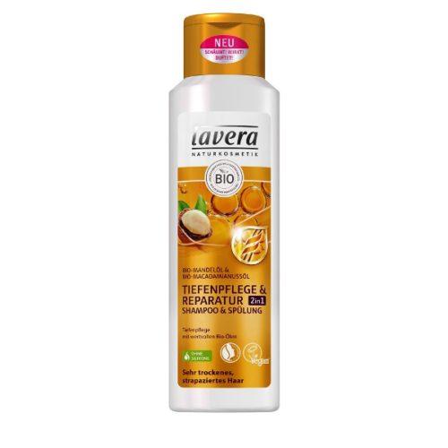 Lavera Intensive Care & Repair 2in1 Shampoo & Conditioner 250ml