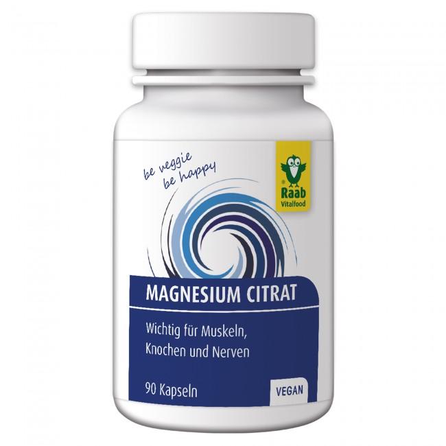 RAAB magneesiumtsitraadi kapslid 90tk