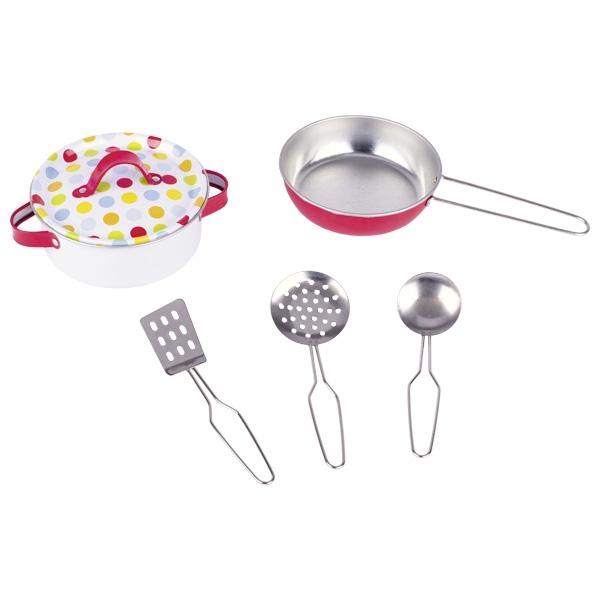 Комплект кухонной посуды GOKI 6 частей