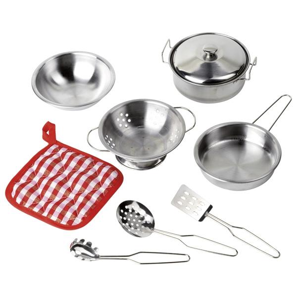 Комплект кухонной посуды GOKI 9 частей