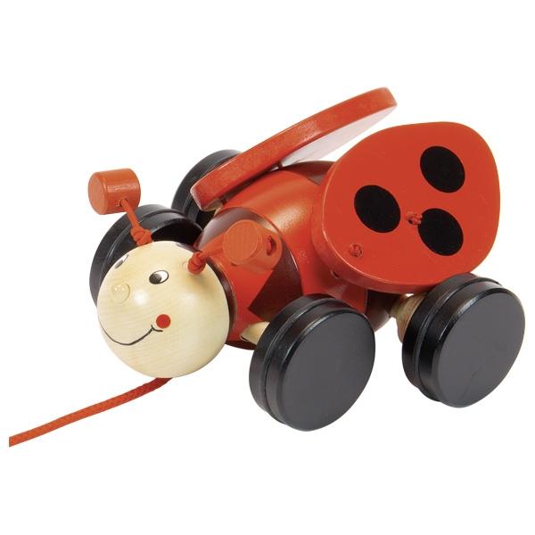 GOKI Pull-Along Ladybird Lil