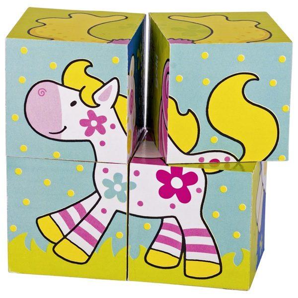 Кубики Мои друзья Susibelle GOKI