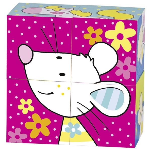 Кубики Мои друзья Susibelle GOKI  Мышка