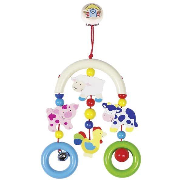 Подвесная игрушка-трапеция Зоопарк Heimess