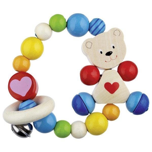 Heimess Elastic Touch Ring Heart Bear