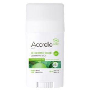 Acorelle sidruni ja rohelise laimiga pulkdeodorant 40g