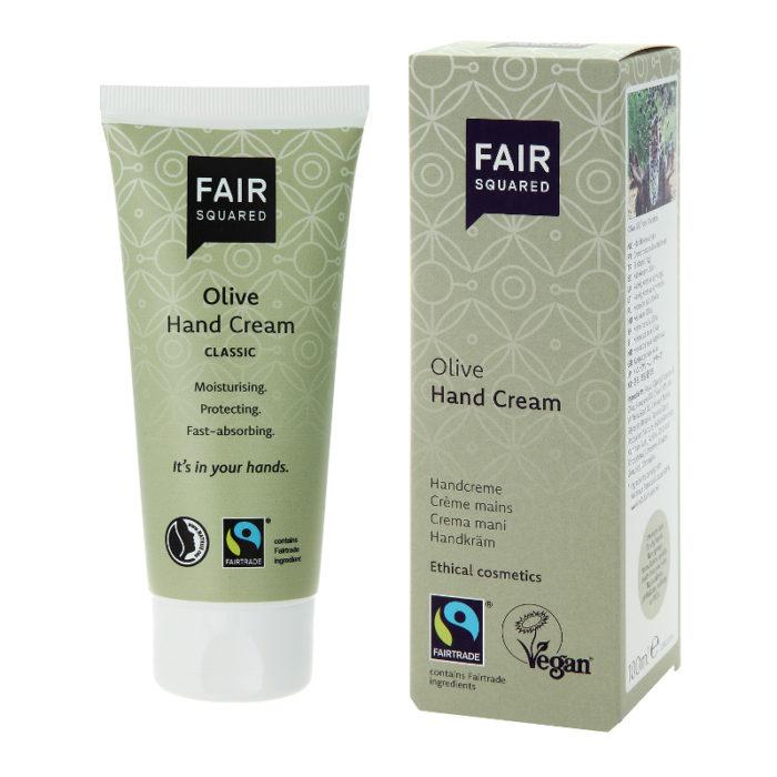 Крем для рук с оливковым маслом Fair Squared 100ml