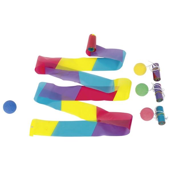 Гимнастическая лента с шариком GOKI