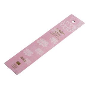 Ароматические палочки c розой Golden Lotus 10шт