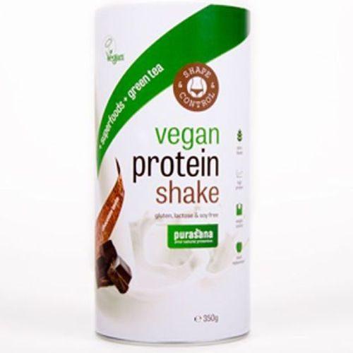 Purasana Shape & Control Vegan Protein Shake, Chocolate 350g