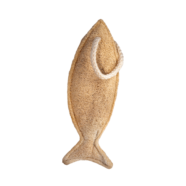 Мочалка из люффы маленькая Croll & Denecke рыбка