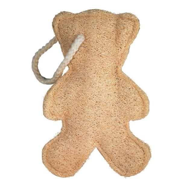 Мочалка из люффы маленькая Croll & Denecke мишка