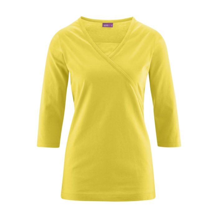 Женская блузка с рукавом 3/4 Living Crafts желтая