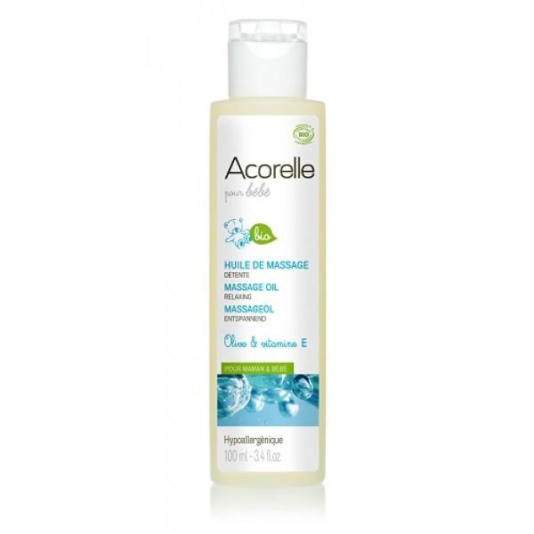 Массажное масло для младенцев Acorelle 100ml