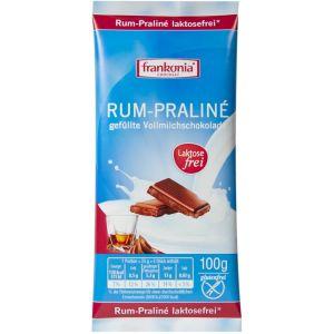 Шоколад без лактозы с ромовым пралине 100g
