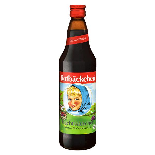 Rotbäckchen Multi Fruit Juice with Vitamin C 750ml