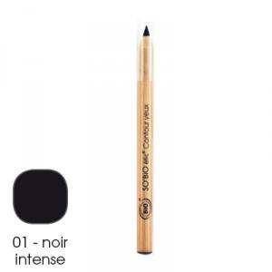 Карандаш для глаз SO'BiO черный