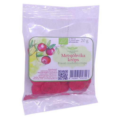 Taarapõllu Wild Cranberry Crisps 20g