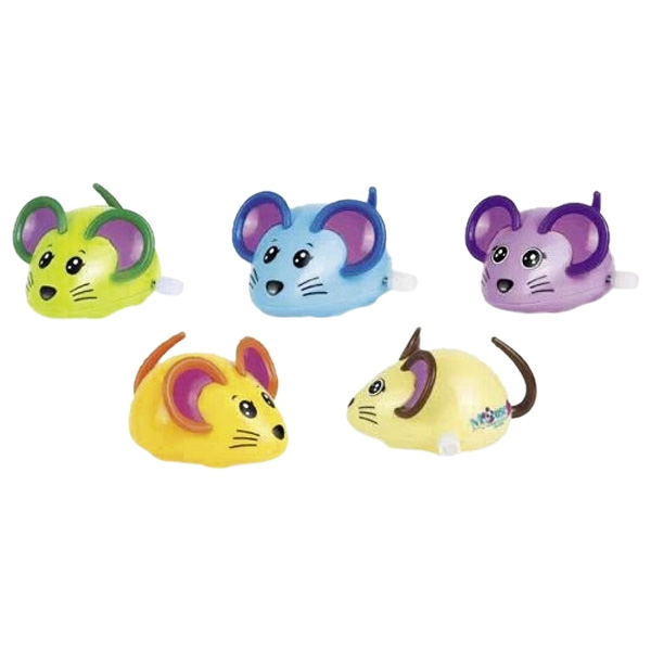 GOKI Mouse with wind-up motor 1pc