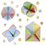GOKI origami lehed kleepsudega 16tk