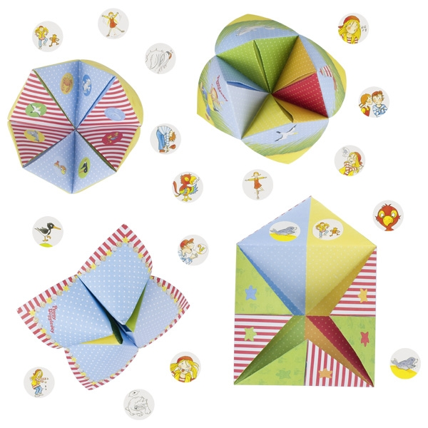Оригами с наклейками GOKI 16шт
