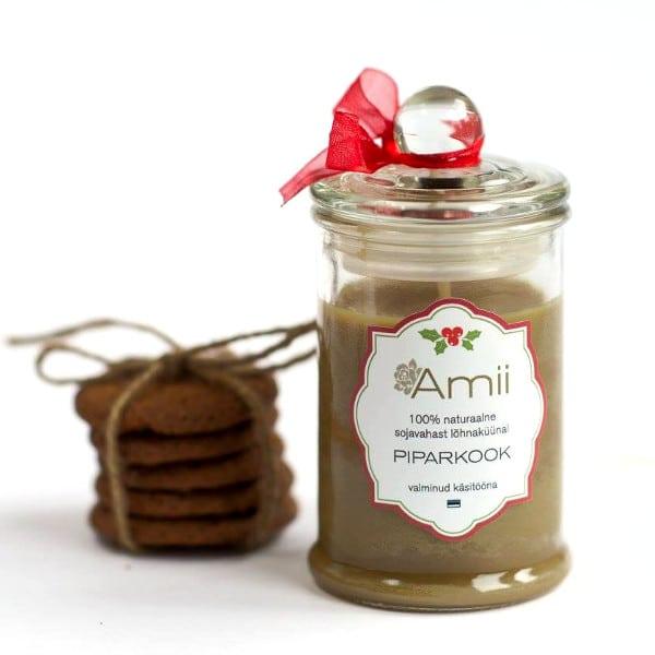 Свеча из соевого воска Пипаркоок Amii
