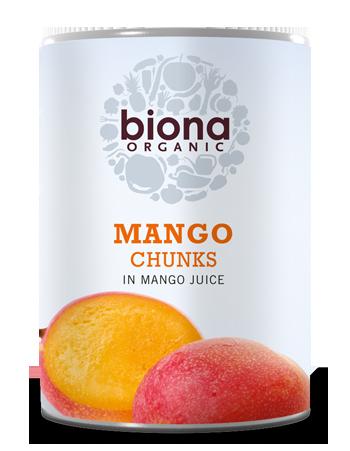 Манго в собственном соку Biona 400g