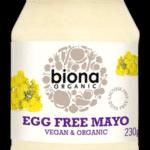 Майонез Biona, без яиц, веган  230g