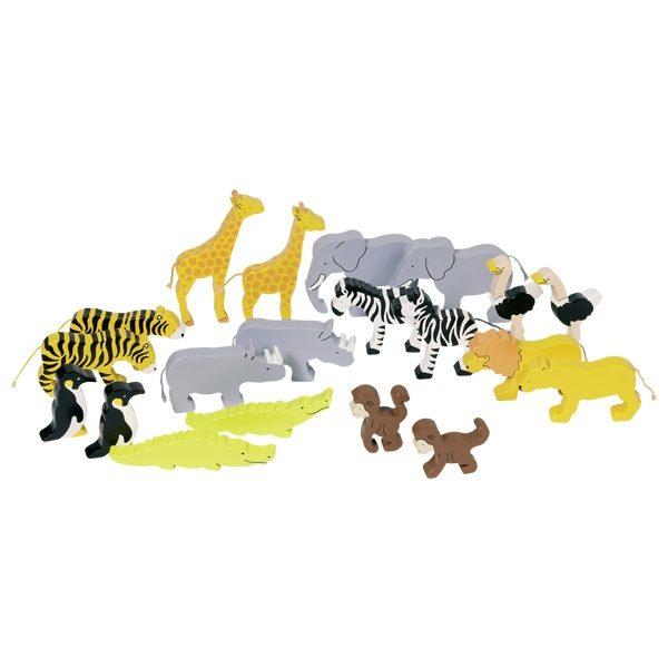 Животные Африки GOKI 20шт