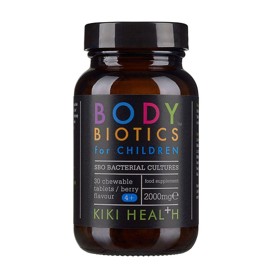 Жевательные таблетки с пробиотиками со вкусом ягод для детей KIKI 30шт